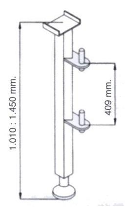 DOSTAWA GRATIS! 08172275 Wciągarka elektryczna linowa budowlana + Niski maszt (udźwig: 325 kg)