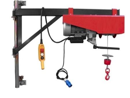 DOSTAWA GRATIS! 08172277 Wciągarka elektryczna linowa budowlana Minor P-300 + Niski maszt + Ramie robocze (udźwig: 300 kg)