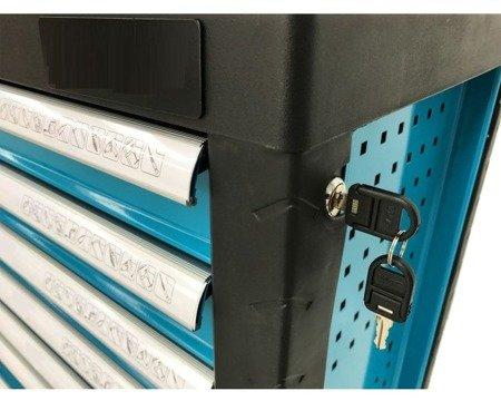 DOSTAWA GRATIS! 16069994 Wózek, szafka narzędziowa, 7 szuflad (wymiary: 985x766x465 mm)