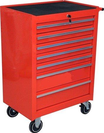 DOSTAWA GRATIS! 65669914 Wózek, szafka serwisowa, 7 szuflad (wymiary: 99,5x68x45,8 cm)