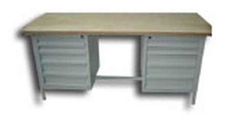 DOSTAWA GRATIS! 77156857 Stół warsztatowy, 10 szuflad (wymiary: 2000x750x900 mm)