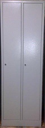 DOSTAWA GRATIS! 77170684 Szafa odzieżowa BHP, 2 drzwi (wymiary: 1800x900x480 mm)
