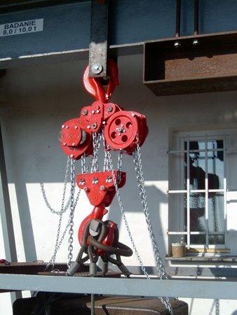 DOSTAWA GRATIS! 9588152 Wciągnik łańcuchowy stacjonarny (udźwig: 5,0 T, wysokość podnoszenia: 3m)