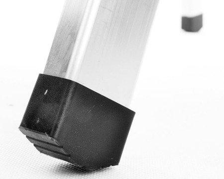 DOSTAWA GRATIS! 99674631 Drabina domowa aluminiowa jednostronna 3 stopniowa (wysokość robocza: 2,70m)