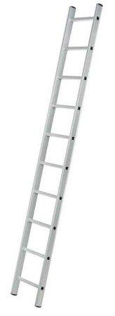 DOSTAWA GRATIS! 99674714 Drabina aluminiowa przystawna 1x15 (wysokość robocza: 5,60m)