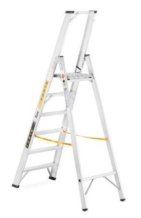 DOSTAWA GRATIS! 99675096 Drabina montażowa jednostronna ALOSS (wysokość robocza: 3,27m)