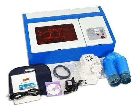 Godtech Ploter laserowy co2 laser grawerka (maks. wielkość obrabianego materiału: 350x240, moc: 40W) 09575999