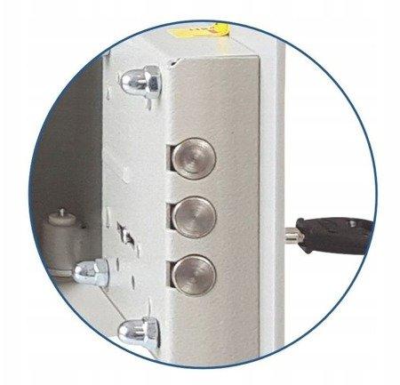 Gorek Sejf 3mm! 47 litrów zamek elektroniczny (wymiary: 40x40x37 cm)
