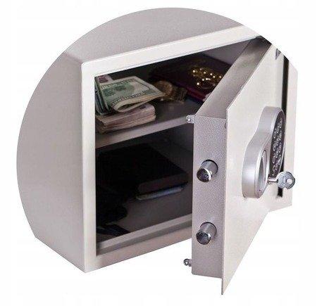 Gorek Sejf biurowy 3mm! zamek elektroniczny 22 litry (wymiary: 276x336x240 cm)
