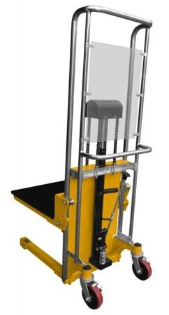 Masztowy wózek paletowy/platformowy (udźwig: 400 kg, długość platformy/wideł: 650mm, wysokość podnoszenia: 1300mm) 02872518