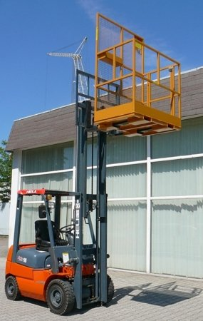 Platforma robocza PR80 dla 2 osób (wymiary: 800 x 1200 x 1800 mm) 2903587