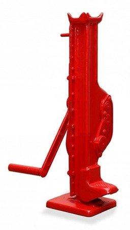 Podnośnik kolejowy niski z korbą raku (udźwig: 3 T, wysokość w stanie złożonym: 570mm) 03073145