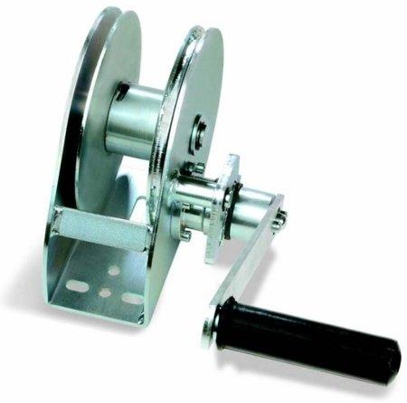 Wciągarka linowa ręczne konsolowa ze stali ocynkowanej (udźwig: 350 kg) 03076130