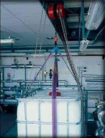 Wciągnik łańcuchowy z przekładnią planetarną (wysokość podnoszenia: 3m, udźwig: 10 T) 22077003