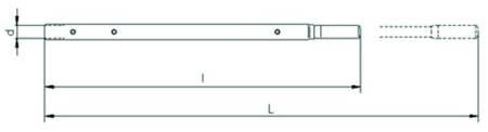 Wciągnik linowy z liną 40m (udźwig: 1,6 T) 22076820