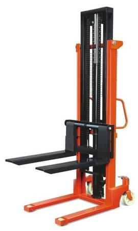 Wózek hydrauliczny podnośnikowy z rozsuwanymi widłami (udźwig: 1 T, wysokość podnoszenia: 2500 mm) 85077139