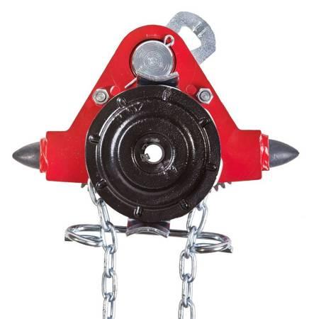 Wózek jednobelkowy z napędem ręcznym (wysokość podnoszenia: 3m, szerokość stopy belki: 82-125mm, udźwig: 3,2 T) 22076970