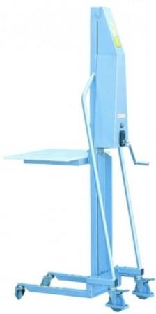 Wózek podnośnikowy (udźwig: 200 kg, wymiary wideł: 400x330x40 mm, wysokość podnoszenia min/max: 130-1500 mm) 310411