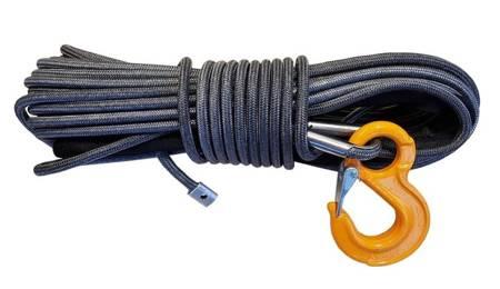 Wyciągarka Escape EVO 12000 lbs [5443 kg] EWB z liną syntetyczną 12V (lina: 10 mm w oplocie 28 m 10400 kg +hak) 81877738