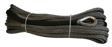 Wyciągarka XTR 13500lbs [6130kg] z liną syntetyczną 12V (lina: 10 mm czerwona dyneema 25m 10400kg +hak) 81877814