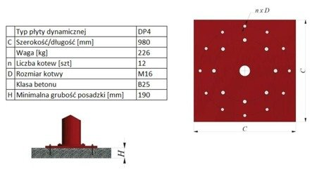 Żuraw słupowy obrotowy z wciągnikiem łańcuchowy elektrycznym na wózku elektrycznym (udźwig: 500 kg, długość ramienia: 4000mm, wysokość do belki: 4000mm) 03076001